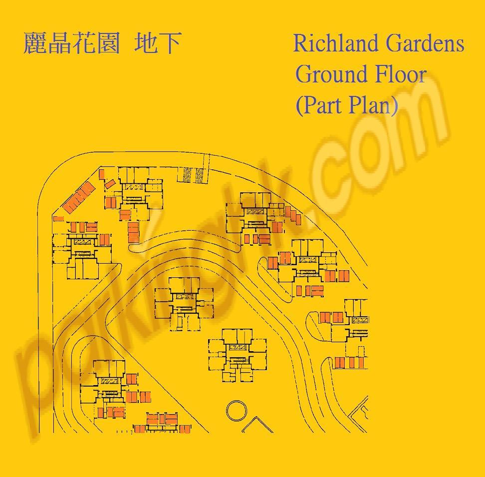 九龍灣車位 宏光道  麗晶花園 平面圖 香港車位.com ParkingHK.com