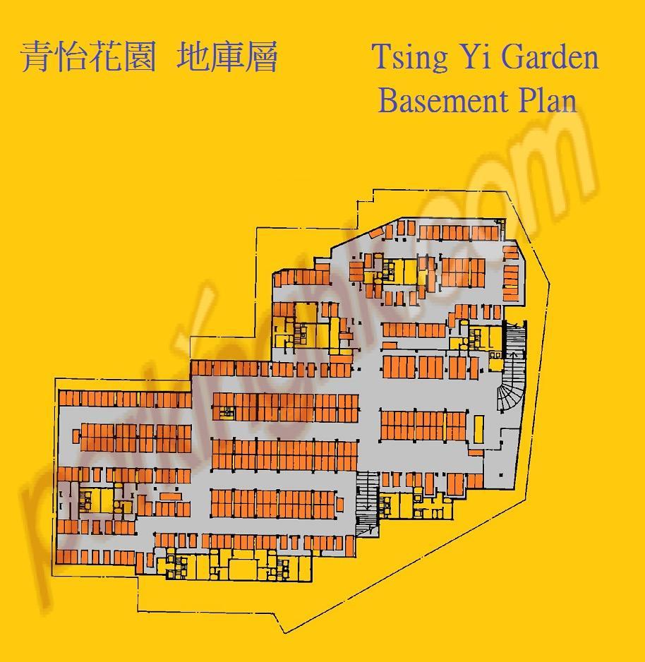 Tsing Yi Car Park Space  Tsing Luk Street  Tsing Yi Garden  plan 香港車位.com ParkingHK.com
